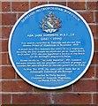 SJ9698 : Blue plaque: Ada Jane Summers by Gerald England
