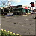 ST3086 : KFC viewed across Docks Way, Newport by Jaggery