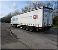 ST3086 : Bisley 6-axle articulated lorry, Docks Way, Newport by Jaggery