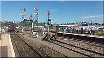 SO8555 : Worcester Shrub Hill Station by Shaun Ferguson