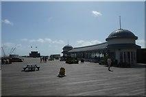 TQ8109 : Hastings Pier by DS Pugh