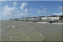 TQ8109 : Hastings from the pier by DS Pugh