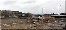 SE1437 : Demolition site, Shipley by habiloid
