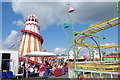 SZ6597 : Helter Skelter on South Parade Pier by Barry Shimmon