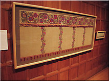 TQ3180 : Bradford altar frontlet in textiles exhibition, Two Temple Place by David Hawgood