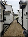 SX9372 : South on Stanley Street, Teignmouth by Robin Stott
