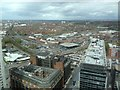 SJ3491 : View North-East from Panoramic 34 Restaurant by Eirian Evans