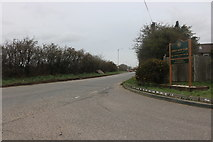 TQ6580 : The entrance to Orsett Golf Club on Brentwood Road by David Howard