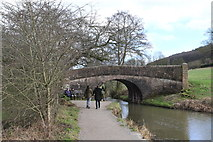 SK3056 : Bridge over the Cromford Canal by Andrew Abbott