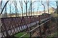 NT5034 : Footbridge over former railway, Galashiels by Jim Barton