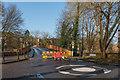TQ1656 : Road closed by Ian Capper
