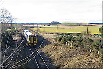 NJ1161 : Railway to Inverness by Anne Burgess