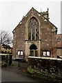 SO4593 : West side of St Laurence's Church, Church Stretton by Jaggery