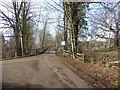 NY9365 : Old road near the Hermitage by Oliver Dixon