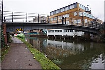 TQ1883 : Footbridge at Abbey Manufacturing Estate by Ian S