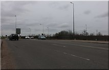 TQ5480 : Slip road from the A13 to Wennington by David Howard