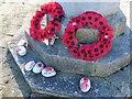 SU3687 : Wreaths on the memorial by Bill Nicholls