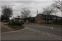 TQ5184 : Rainham Road at the corner of Castle Avenue by David Howard