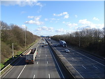 SE2526 : The M62 eastbound near Morley by JThomas
