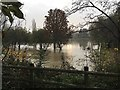 SP2965 : The floodplain is doing its job, Myton, Warwick by Robin Stott