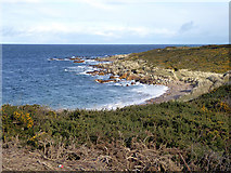 NJ1570 : A small bay just to the east of Hopeman by John Lucas