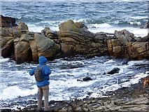 NJ1570 : Admiring the sea by John Lucas
