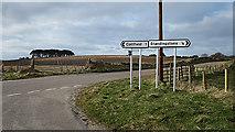 NJ1363 : Kirkton Crossroads by Anne Burgess