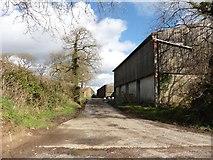 SS7610 : Buildings at Dendridge Farm by Roger Cornfoot