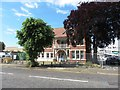 TM1715 : Westleigh House view across street - council offices now demolished by Duncan Graham