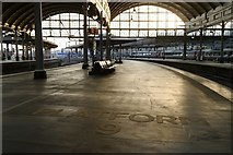 NZ2463 : Platform 9, Newcastle Central Station by Mark Anderson