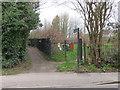 TQ3398 : Public footpath near Enfield by Malc McDonald