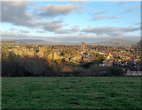 SO5074 : View towards Ludlow by Jeff Buck