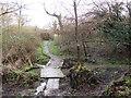 TQ5942 : Bridge over a drain near Southborough by Malc McDonald