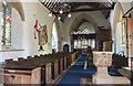 TF0811 : Interior, St Thomas à Becket church, Greatford by Julian P Guffogg