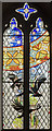 TF0811 : New Stained glass window, St Thomas à Becket church, Greatford by Julian P Guffogg