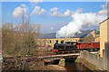 SE0539 : No. 85 and a demonstration freight train at Ingrow by Chris Allen