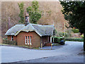 NT2640 : Gate Lodge at Peebles Hydro by David Dixon