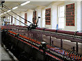 NS8842 : New Lanark, Textiles Room in Mill No 3 by David Dixon