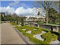 SJ8640 : Trentham Gardens: parterre by Stephen Craven