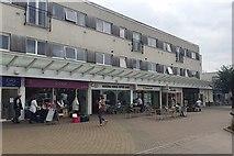 SP2871 : Flats over shops, Talisman Square, Kenilworth by Robin Stott