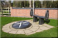 SK7149 : Lancaster memorial at Bleasby by Adrian S Pye