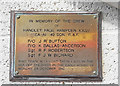 TF5763 : Memorial to the crew of Hampden X3027, 49 Sqdn RAF by Adrian S Pye
