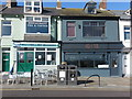 NZ3671 : Bill`s Fish & Chips & High Tide (Cafes) Victoria Crescent Cullercoats by Geoff Holland