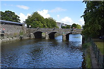 R5757 : Bridge over the Abbey River by N Chadwick