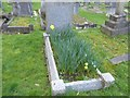 TQ2272 : The grave of the racing driver Dick Seaman at Putney Vale Cemetery by Marathon