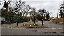TM1822 : Thorpe-le-Soken: The War Memorial by Nigel Cox