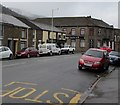 SS9597 : NW along the A4061 Bute Street, Treorchy by Jaggery