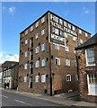 TF4609 : Former riverside warehouse on Nene Quay in Wisbech by Richard Humphrey