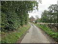NT6232 : B.A.Way  on  access  road  to  Magdalenehall  farm by Martin Dawes