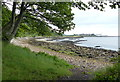 NT2185 : Shoreline along the Fife Coastal Path by Mat Fascione